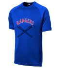 MIDKIFF-6 - Custom Heat Pressed Rangers Adult MLB Replica T-Shirt - 5300 B37C9FB154D0