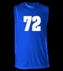 72WAZOWSKIOL72 Youth Sleeveless  Multi Sport Jersey  - 506XSY