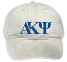 AKPsi - Custom Embroidered Low Pro Style Otto Cap 18-202 653141268CD7