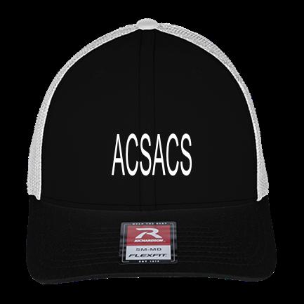 ACS - Custom Heat Pressed Cotton Twill Mesh Hat-110R
