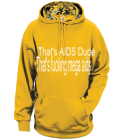 That's fucking mega aids - Custom Heat Pressed Adult Digital Camouflage Hoodies - 1464 B88E2BA698AD