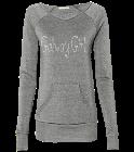 Galway-Girl Galway Girl Ladies Off The Shoulder Alternative Sweatshirt