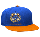 Royal Lion  - Custom Heat Pressed Snapback Flat Bill Hat - 125-978 E0502EB7F433