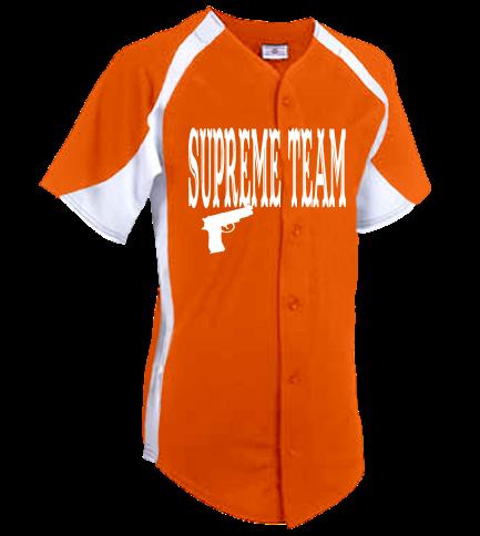 100489677 Chelle-Supreme Team-Supreme Team - Custom Screen Printed Adult Teamwork  Athletic Full Button Jersey 1231B D8EB4DE2E652