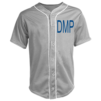 brand new b5e0f d733a DMP-Drunk Matty Prater - Custom Heat Pressed Adult Full Button Baseball  Jersey - N4184 S