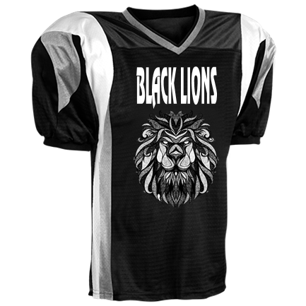 black lions jersey