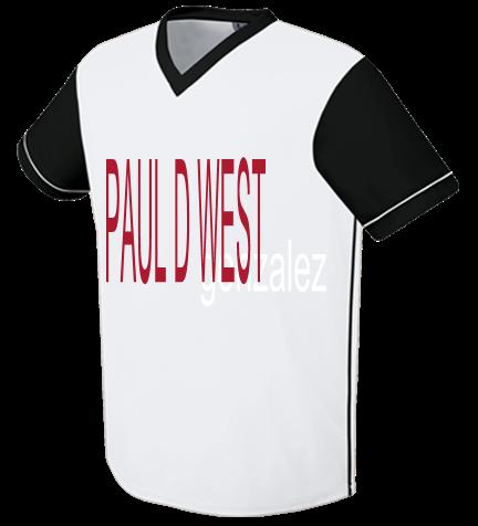 new styles 53cb0 9fd43 PAUL D WEST - Custom Heat Pressed Youth Arsenal Soccer Jersey - 22751