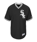 PRINCEPRINCE Youth White Sox Two-Button Jersey - White Sox-MAIY83