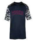 tigers - Custom Screen Printed Adult Digital Sport Tee - 4526 EAD7DF1C5CF4
