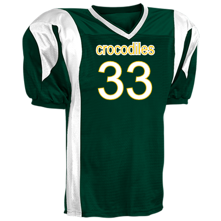 af3d374d9 croc - Custom Heat Pressed Youth Twister Steelmesh Football Jersey -Teamwork  Athletic- 1361 Youth Small B094D3BEFF3BA