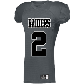 Raiders Holloway Youth Iron Nerve Football Jersey