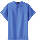 If you have pencils -and 7 apples - how many pancakes will-fit on the roof?-Purple because aliens-don't wear hats! - Custom Heat Pressed Dickies Medical Scrubs - 83706 3558F6F58A65