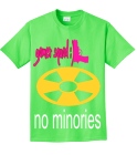 gamer squad :)-no minories-stop stomping on gamers - Custom Heat Pressed Design Custom Neon T-shirts A89E19487B7B