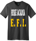 EFI WITH MAP 2 - Custom Heat Pressed V-Neck Tee C8B0AEFE2BE5