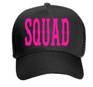 Bride's Squad - Custom Heat Pressed Otto Trucker Hat 32-565 4014BBA88BAD