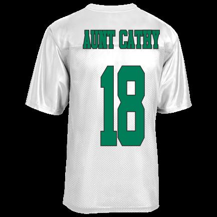 4a9bd9ea3 aunt cathy - Custom Heat Pressed Mens Replica Football Jersey - ST307  E62FBE5A16D1