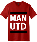 --------MAN -UTD - Custom Heat Pressed V-Neck Tee 4354520F49E1