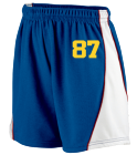 87 DISCONTINUED Augusta Ladies Wicking Mesh Basketball Varsity Shorts - 978