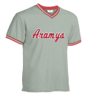 Aramys - Custom Embroidered Teamwork Athletic Adult V-Neck Baseball Jersey - 1770 DD23C8A584BD