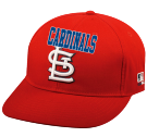 CARDINALS - Custom Heat Pressed St. Louis Cardinals- Official MLB Hat for Little Kids Leagues CD1B11BE3E94