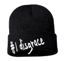 #1 disgrace - Custom Embroidered Adult  Beanie - Sp12 8EEA77197178