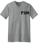 P2M-PUISSANCE 2000-sound system  - Custom Heat Pressed V-Neck Tee F022E9B263A2