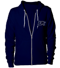 UNDEPLEASUREDMERCH (RANGE ZIP-UP JACKET) - Custom Heat Pressed American Apparel Zip Hoodie 7DC68AE30D67
