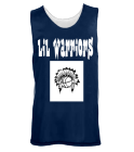 Lil Warriors  - Custom Screen Printed Youth Reversible Wide Shoulder Mesh Jersey-Teamwork Athletic-1480 8FBAD45C909F