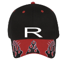 R - Custom Heat Pressed Low Pro Pre Embroidered Otto Cap 58-698 5EC08397F6E0