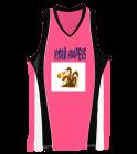 HYDRA-HOOPERS Ladies Wicking Mesh Basketball Jersey