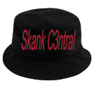 Skank C3ntral - Custom Heat Pressed Short Brim Custom Bucket Hats - 961 3D8F785D4C28
