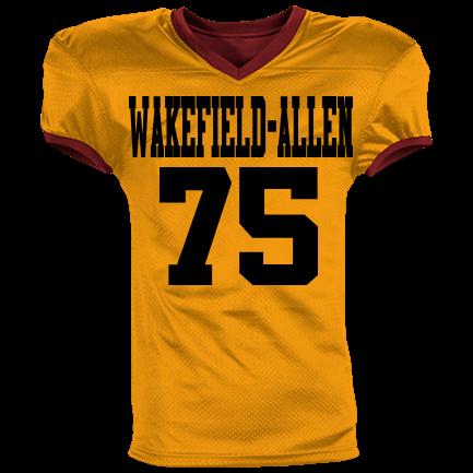 watch a5522 2d89d Wakefield-Allen-75 - Custom Heat Pressed Youth Reversible Football Jersey -  1367