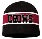 CROWS-8 - Custom Heat Pressed Striped Beanie - SP06 28B564B0D565