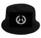 Hollywood - Custom Heat Pressed Short Brim Custom Bucket Hats - 961 218C80BDDAB7