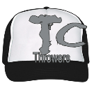 Throwers-T-C - Custom Embroidered Trucker Hat 39-169 7CD0F013BE37