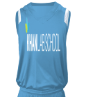 01 Youth V-Neck Custom Basketball Jerseys