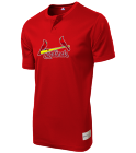 JD Youth Cardinals Two-Button Jersey - Cardinals-MAIY83