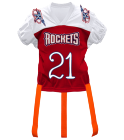 rockets724 DISCONTINUED Adult Official Flag Football Jersey - 1358
