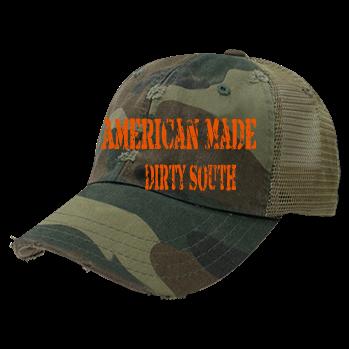 American Made-Dirty South - Custom Heat Pressed Distressed Vintage Snapback  -110 051BA107975B 646450af7d6
