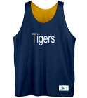 Tigers - Custom Heat Pressed Youth Reversible Basketball Uniforms - Augusta -137 72FC43D370BB