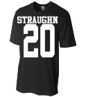 STRAUGHN-20-CHEER-20 - Custom Heat Pressed Adult Fan Football Jersey - N4212 6B2FE034989F