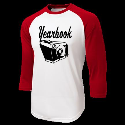 1812a5bb Yearbook - Custom Screen Printed Adult Raglan Baseball Shirts - ST205  78F1B851CF1D