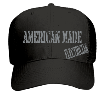 American Made-Electrician - Cheap Snapbacks - 30-660 - Custom Embroidered -  CustomPlanet.com ff1a371a9d0