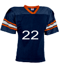 Lawrence -22 - Custom Heat Pressed YouthTeam Football Jersey - Teamwork Athletic -1314 822670657525