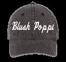 Blush-Poppi Low Profile Otto A-Flex Stretchable Washed Denim Otto Cap