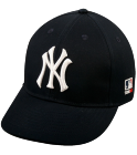2 - Custom Heat Pressed New York Yankees - Official MLB Hat for Little Kids Leagues 78B43537497C