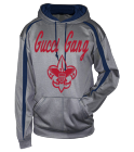Gucci Gang - Custom Embroidered Adult Two Color Fusion Hoodie - 1467-badger FAD088692847