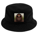 Kanye west - Custom Heat Pressed Short Brim Custom Bucket Hats - 961 AE220ABB7D77