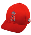 BEN-5 - Custom Heat Pressed Anaheim Angels - Official MLB Hat for little kids leagues C60CF8022CBD