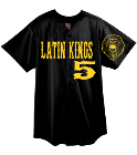 Latin-Kings5King-Maverick360 DISCONTINUED Mesh Baseball Jersey - Augusta - 437